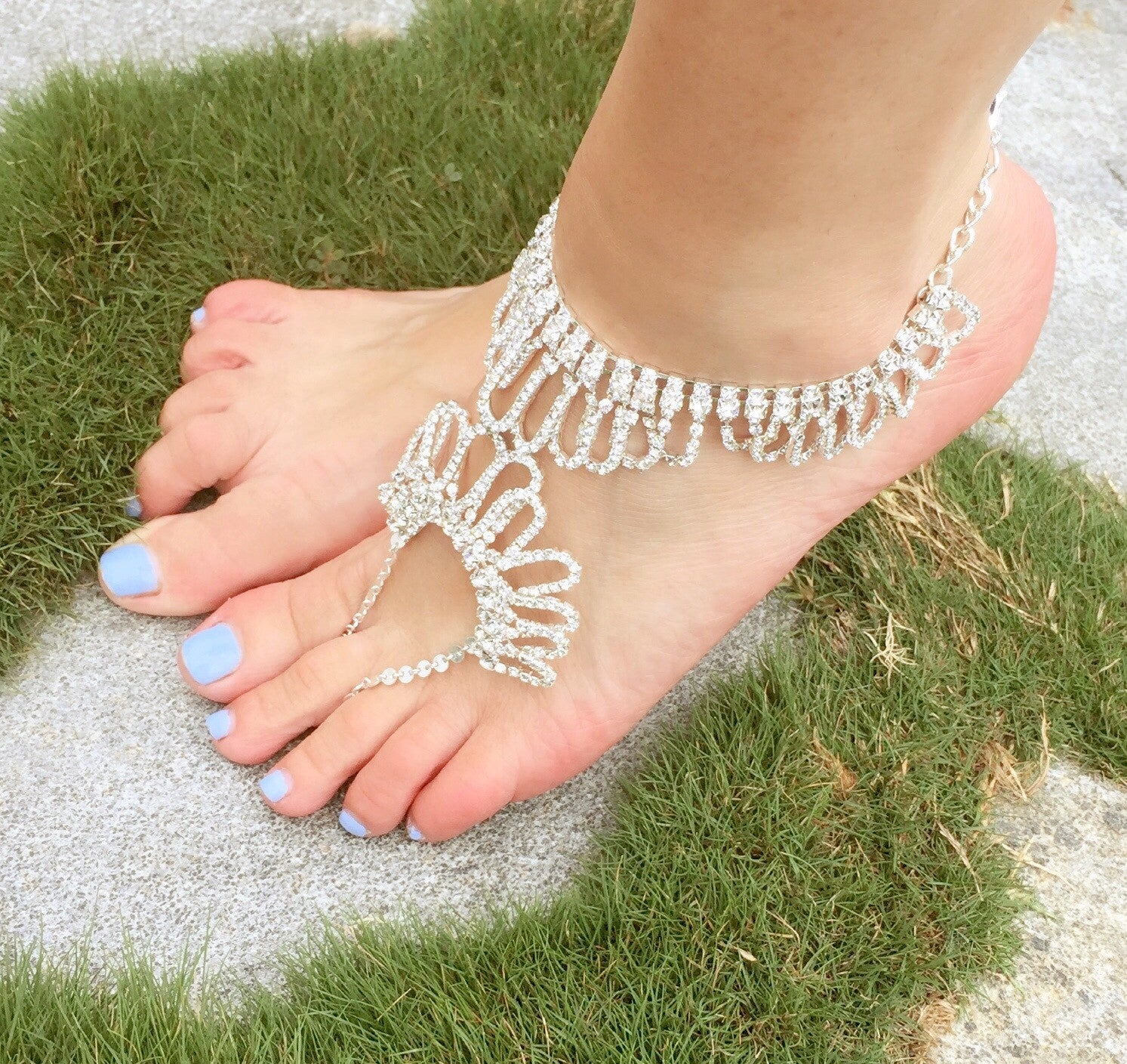 The Angel Anklet