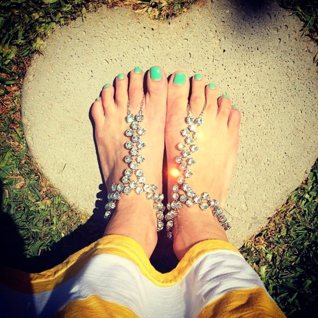 The Rachelle Foot Jewelry