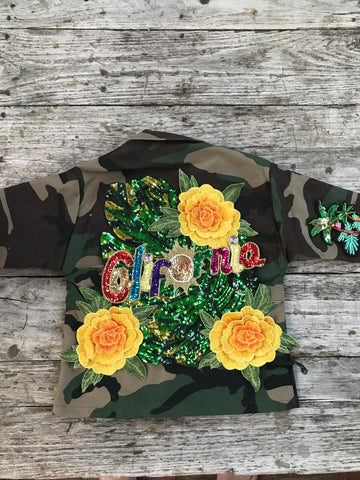 CALIFORNIA Camo Jacket