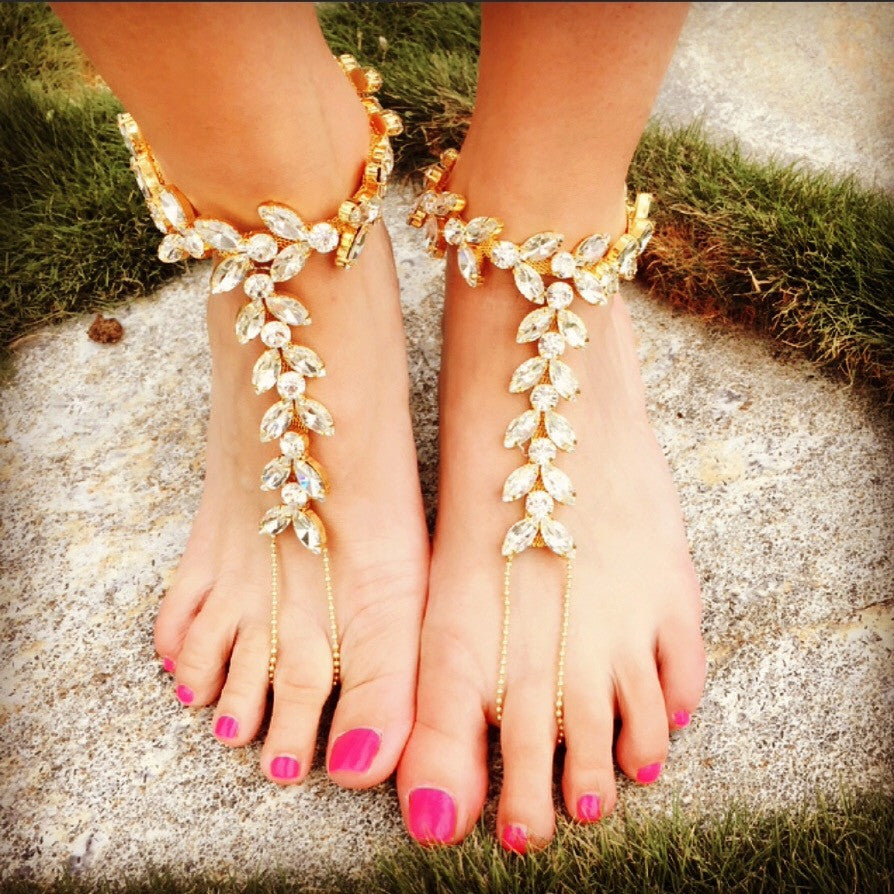 The Socci Anklet- GOLD
