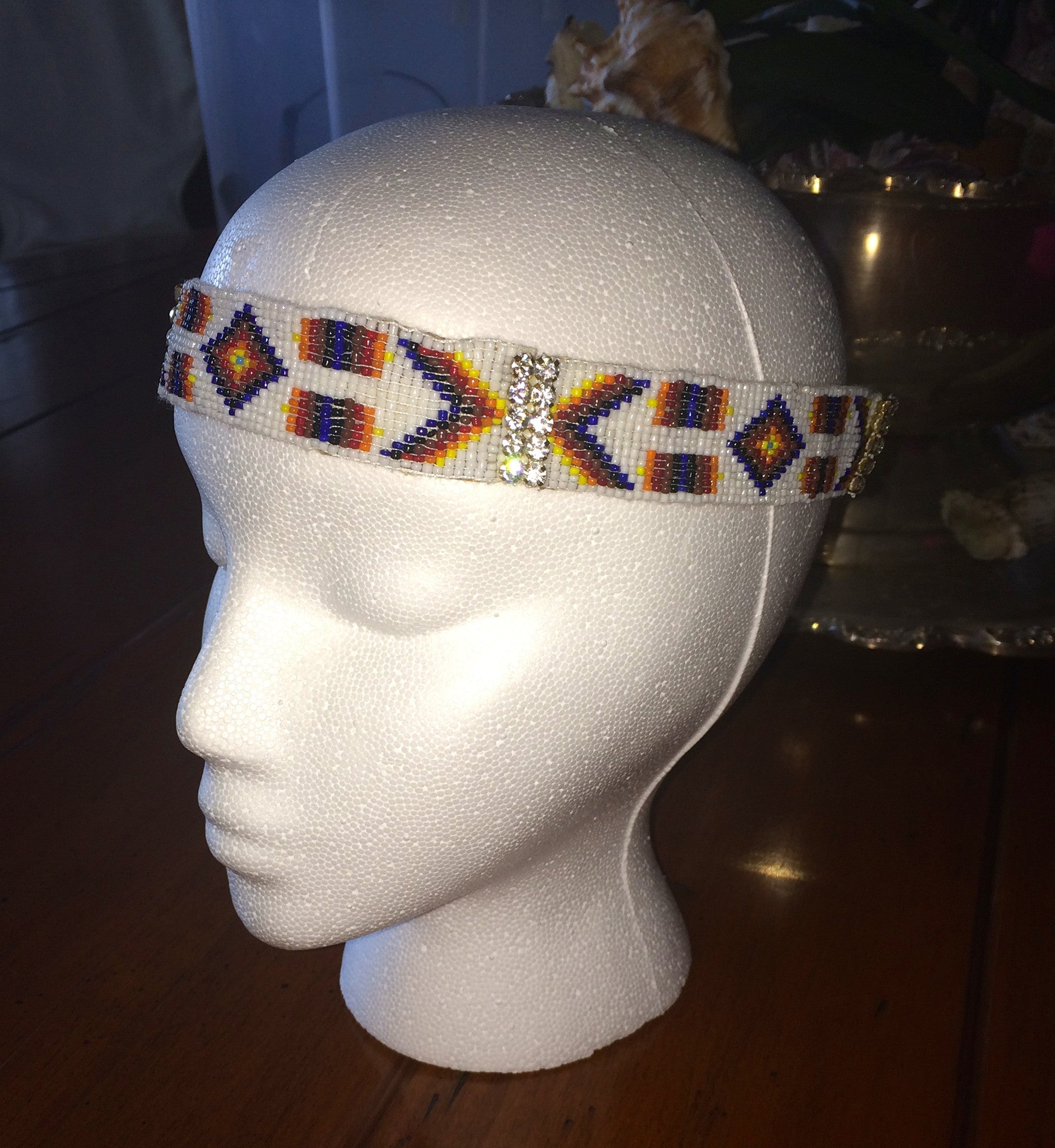 The Cabo Keri Headpiece- WHITE