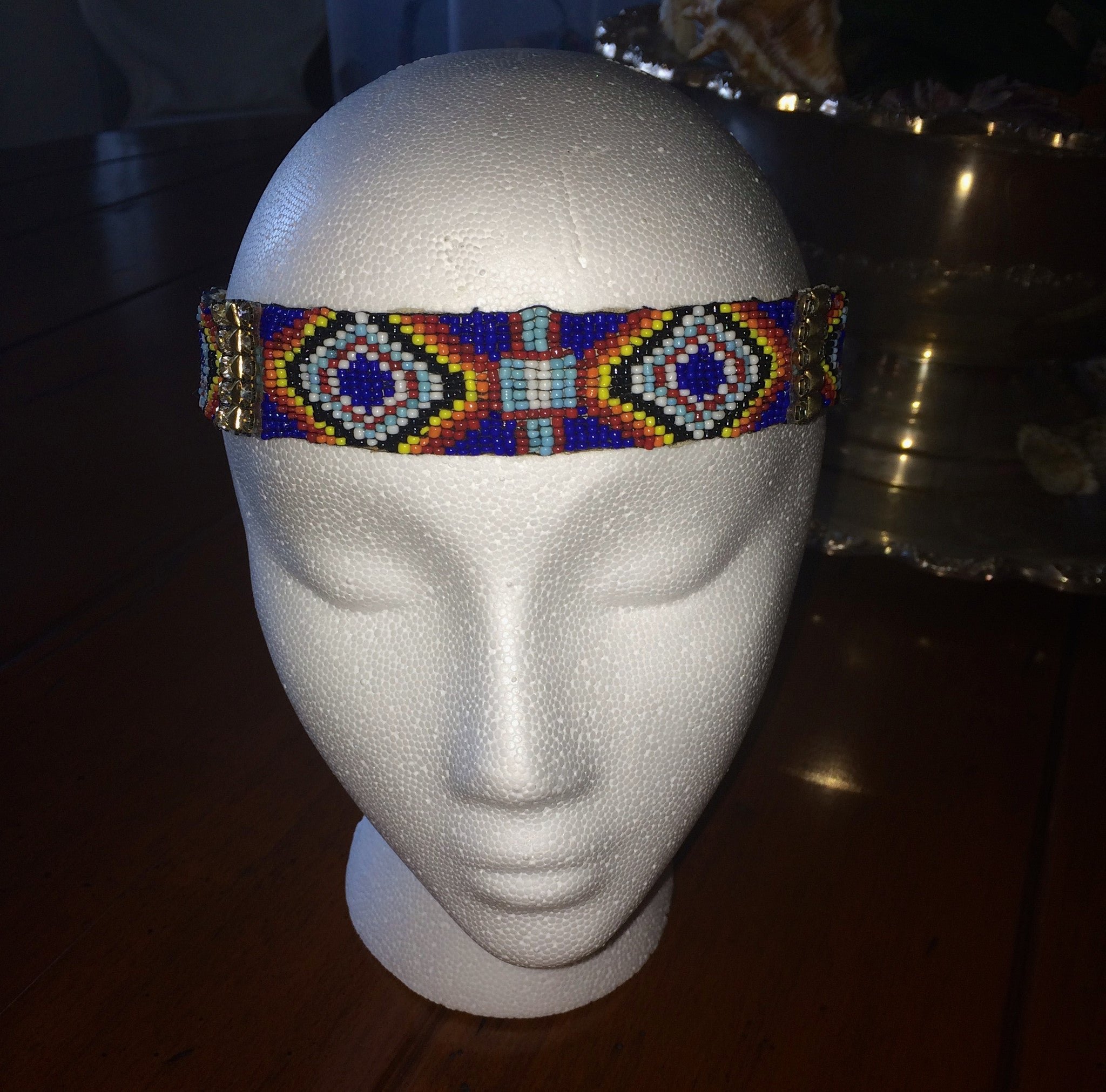The Cabo Keri Headpiece- Blue