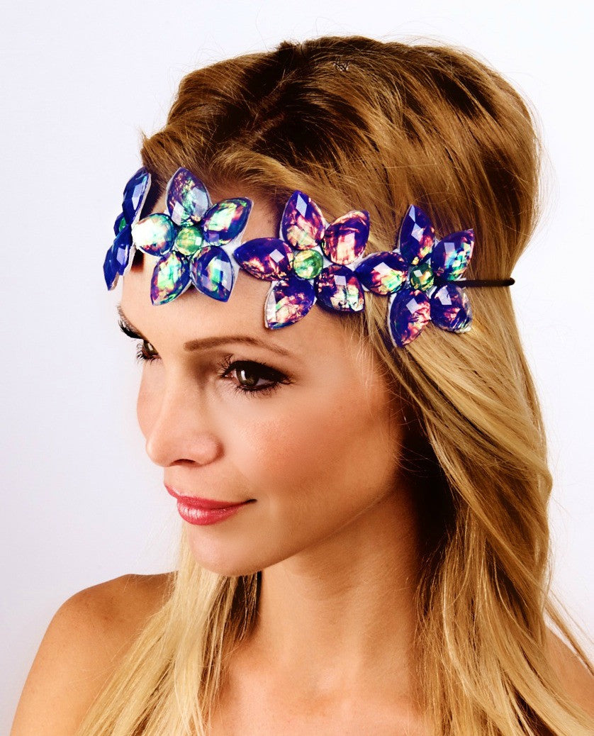 The Flower Stone Headband