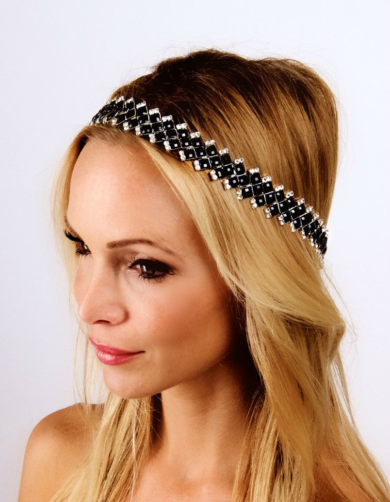 The Black Beauty Halo Headpiece