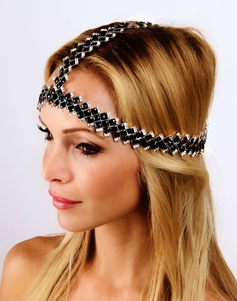 The Black Beauty Socci Headpiece