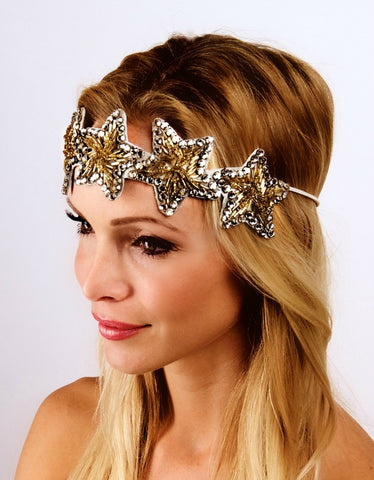 The  Gold Twinkle Twinkle Headpiece