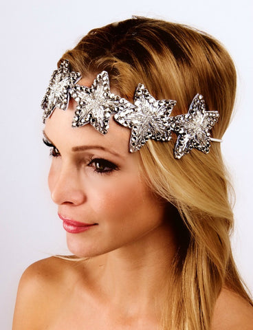 The  Silver Twinkle Twinkle Headpiece
