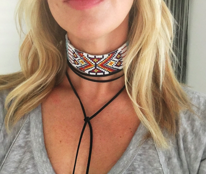 The Cabo Keri Choker- WHITE