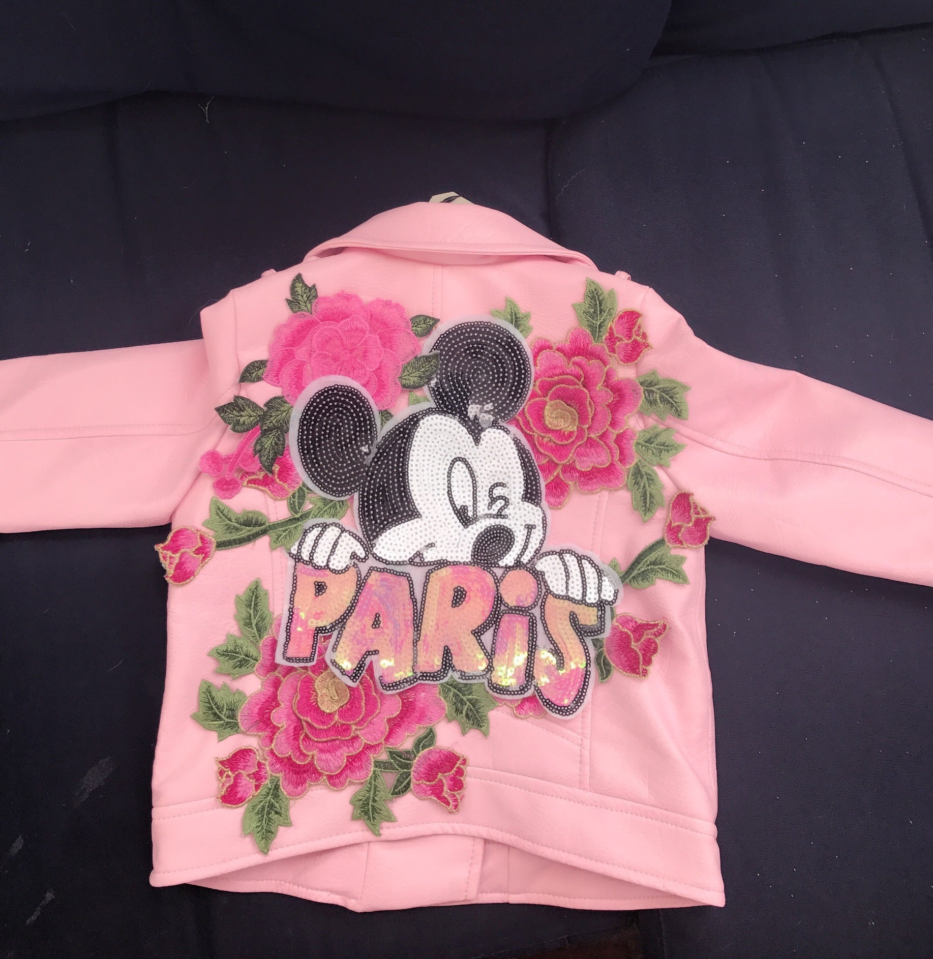 Pretty in Pink Mickey