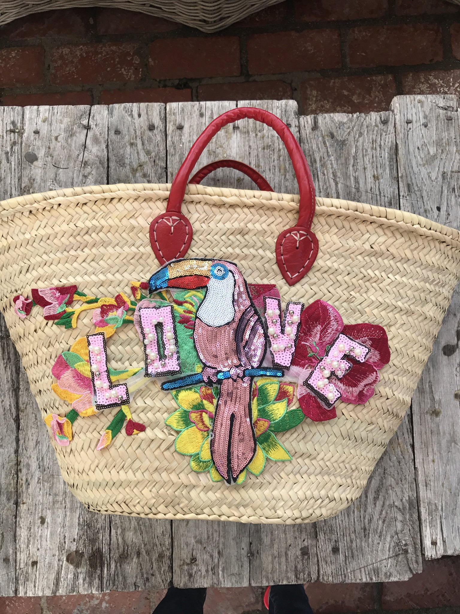 The LOVE Beach Basket