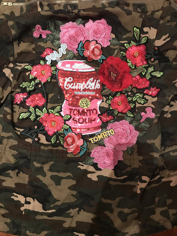Campbell's Soup Camo Jacket