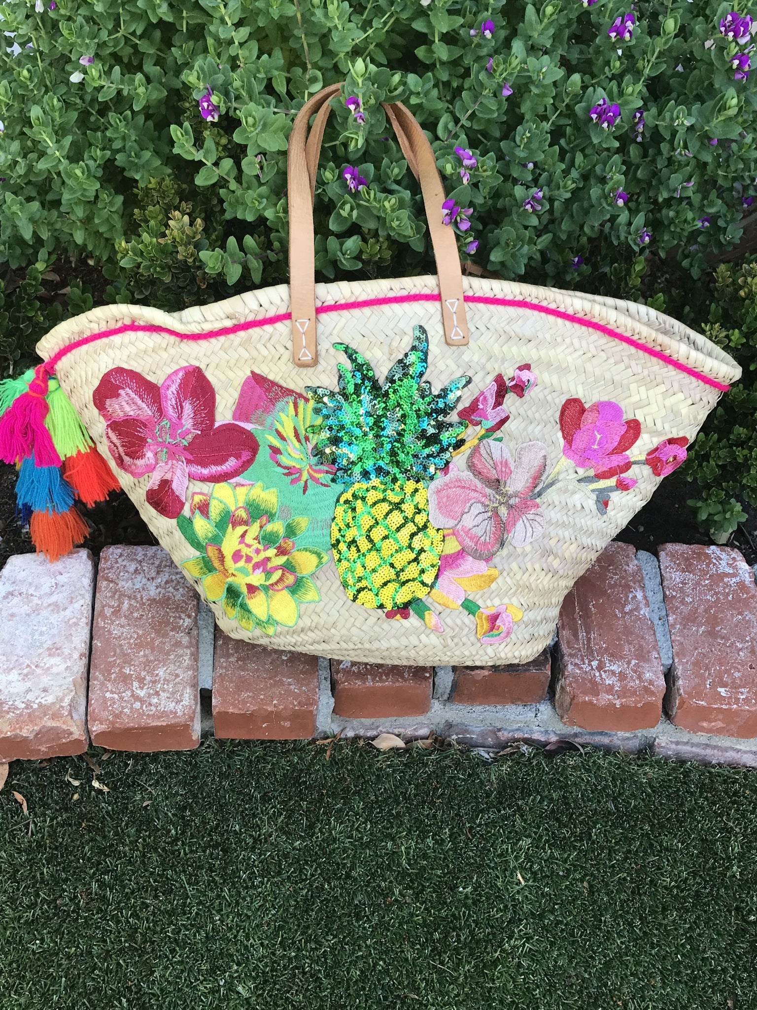 The Pina Pineapple or Parrot Beach Basket