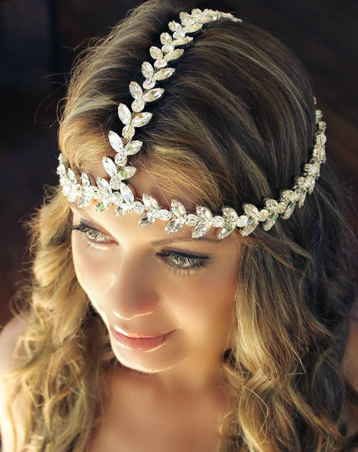 The Socci Headpiece-  Clear