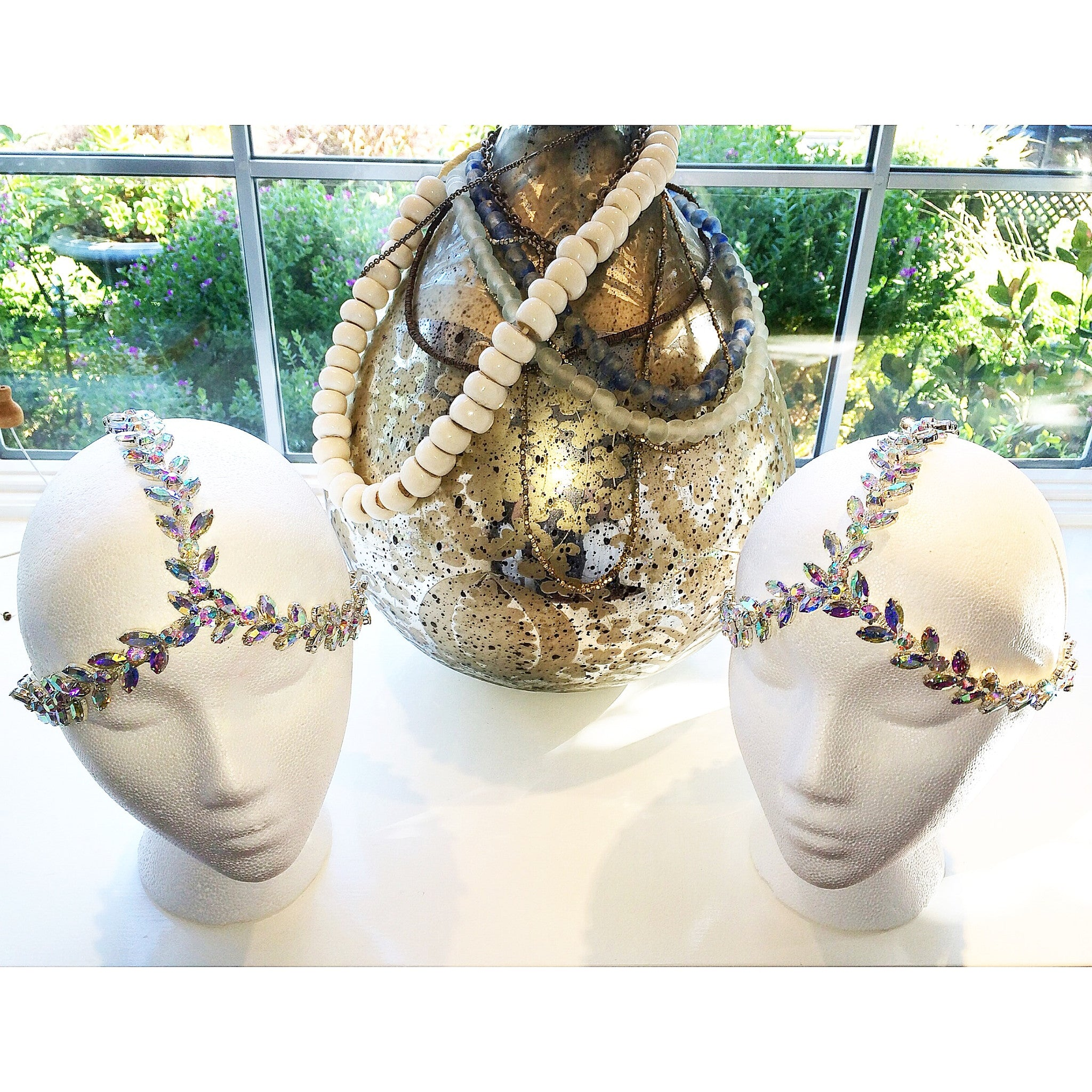 The Socci Headpiece-  Sparkly AB Color
