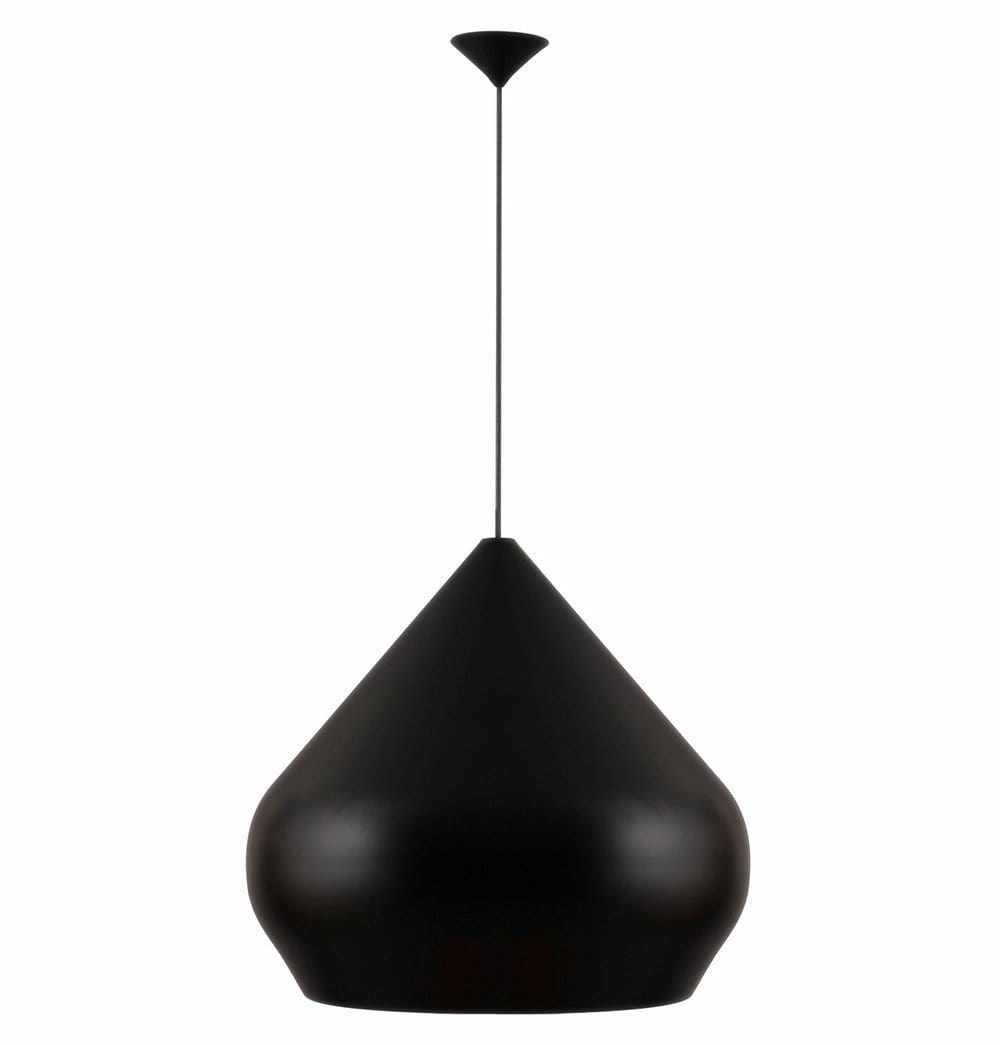 Beat Shade Stout Pendant Lamp Small Black Reproduction Tastefulhabitat Com