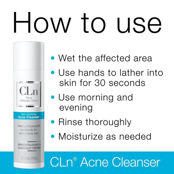 CLN® ACNE CLEANSER – 100 ml