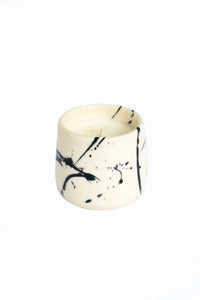 Earl Home black splatter candles