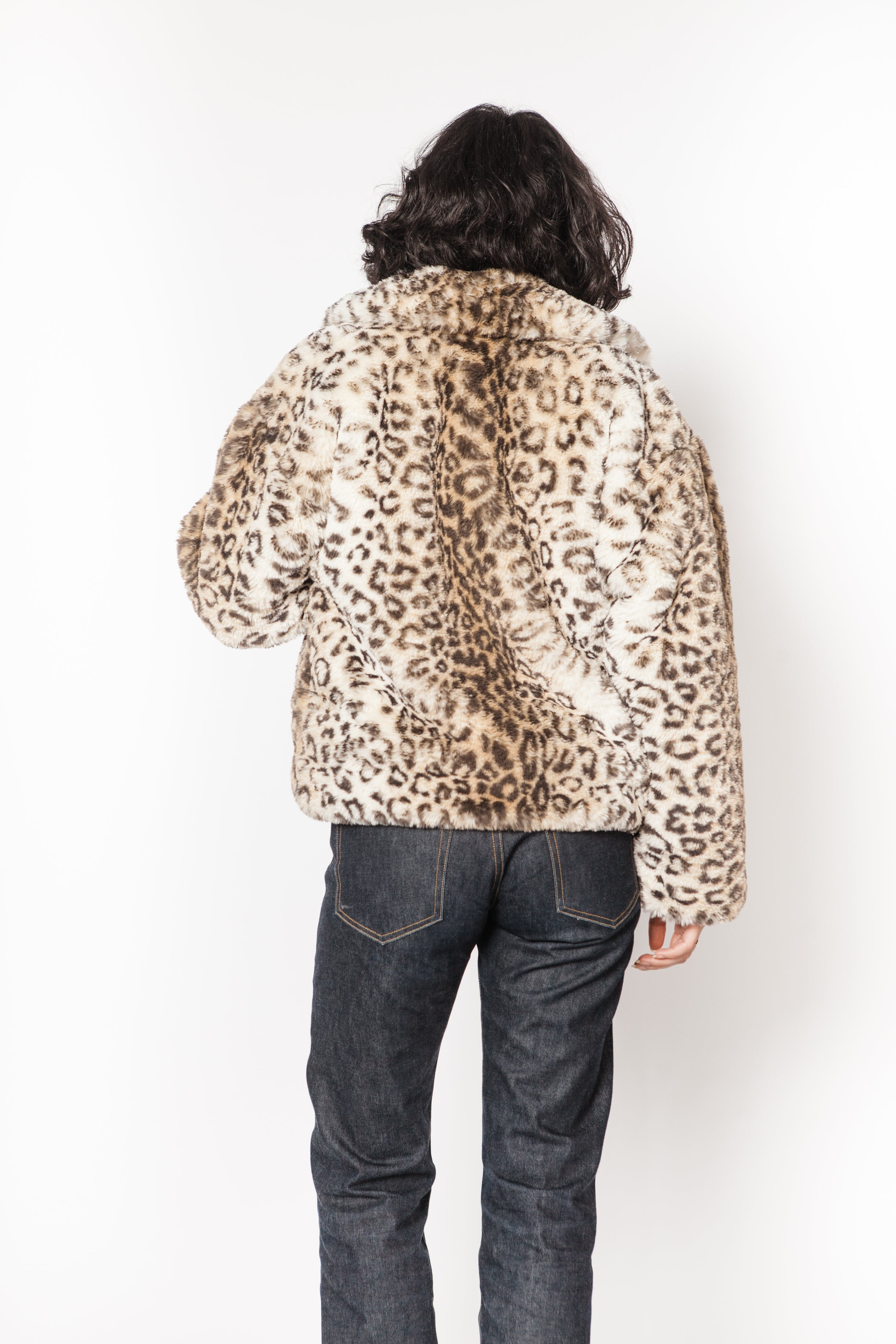 Le Superbe California Fur Sure leopard coat