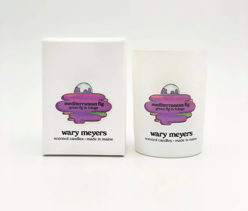 Wary Meyers Mediterranean Fig Candle