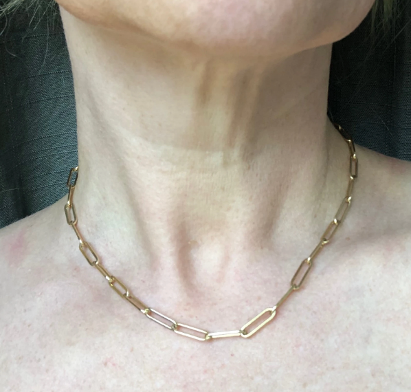 Wilkens Studio shorty cable chain necklace