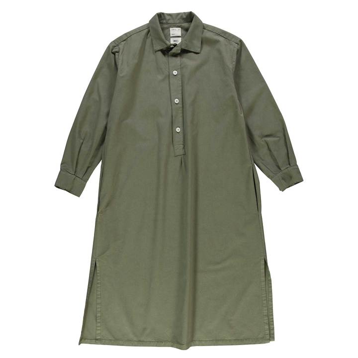 Girls Of Dust Chemise light cotton drill dress