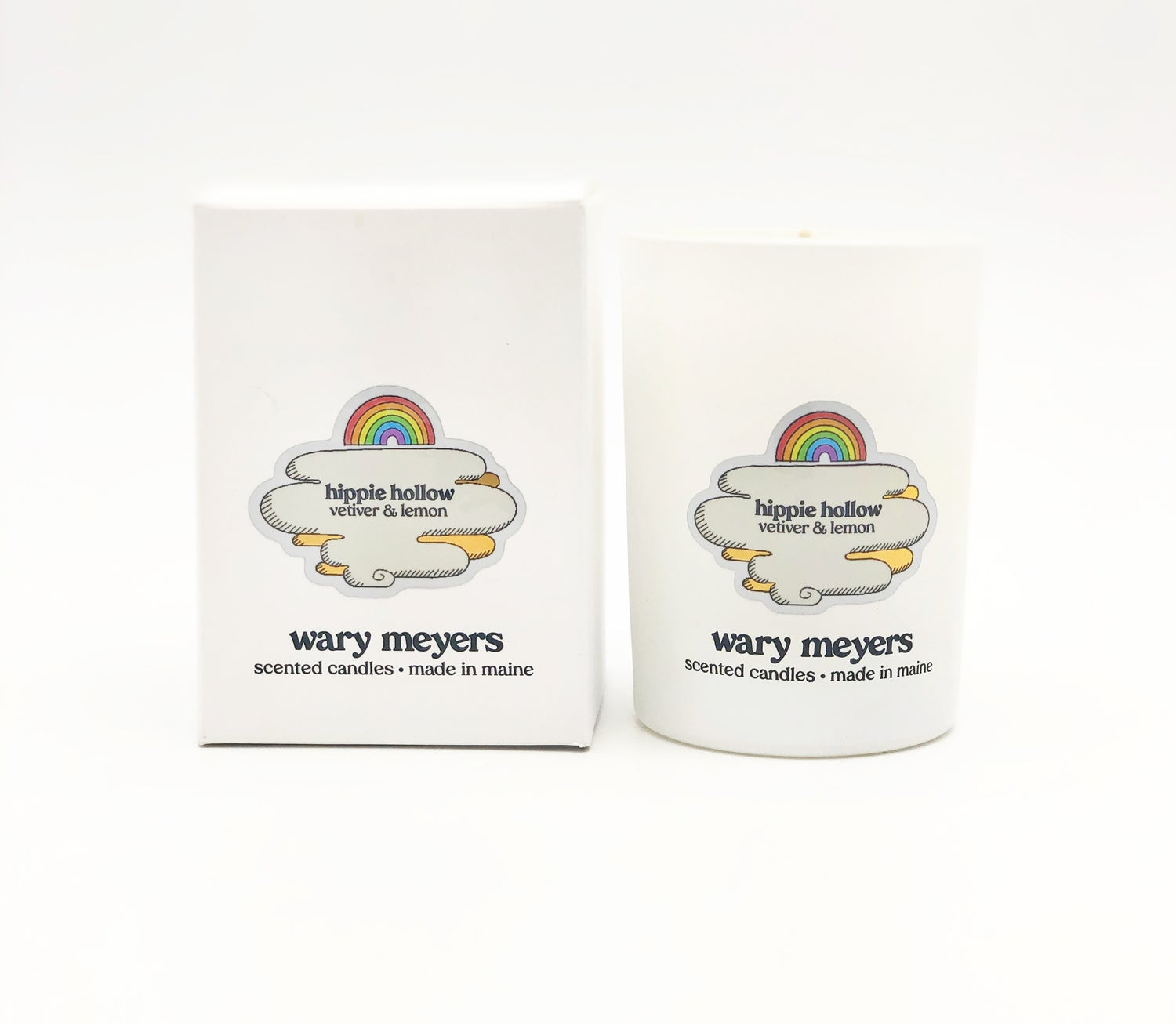 Wary Meyers Hippe Hollow candle