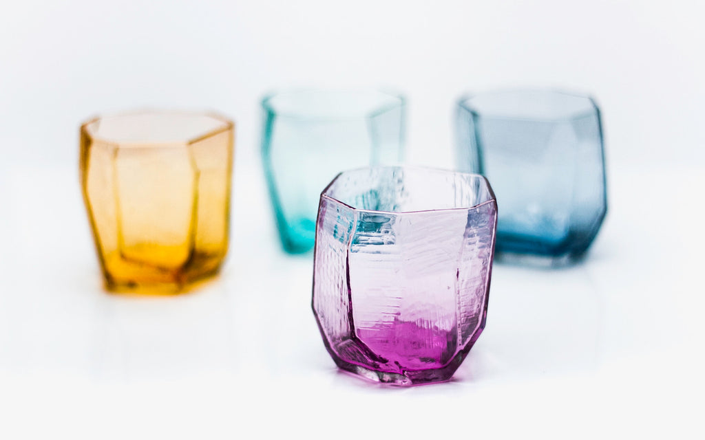 Vitreluxe crystal tumblers