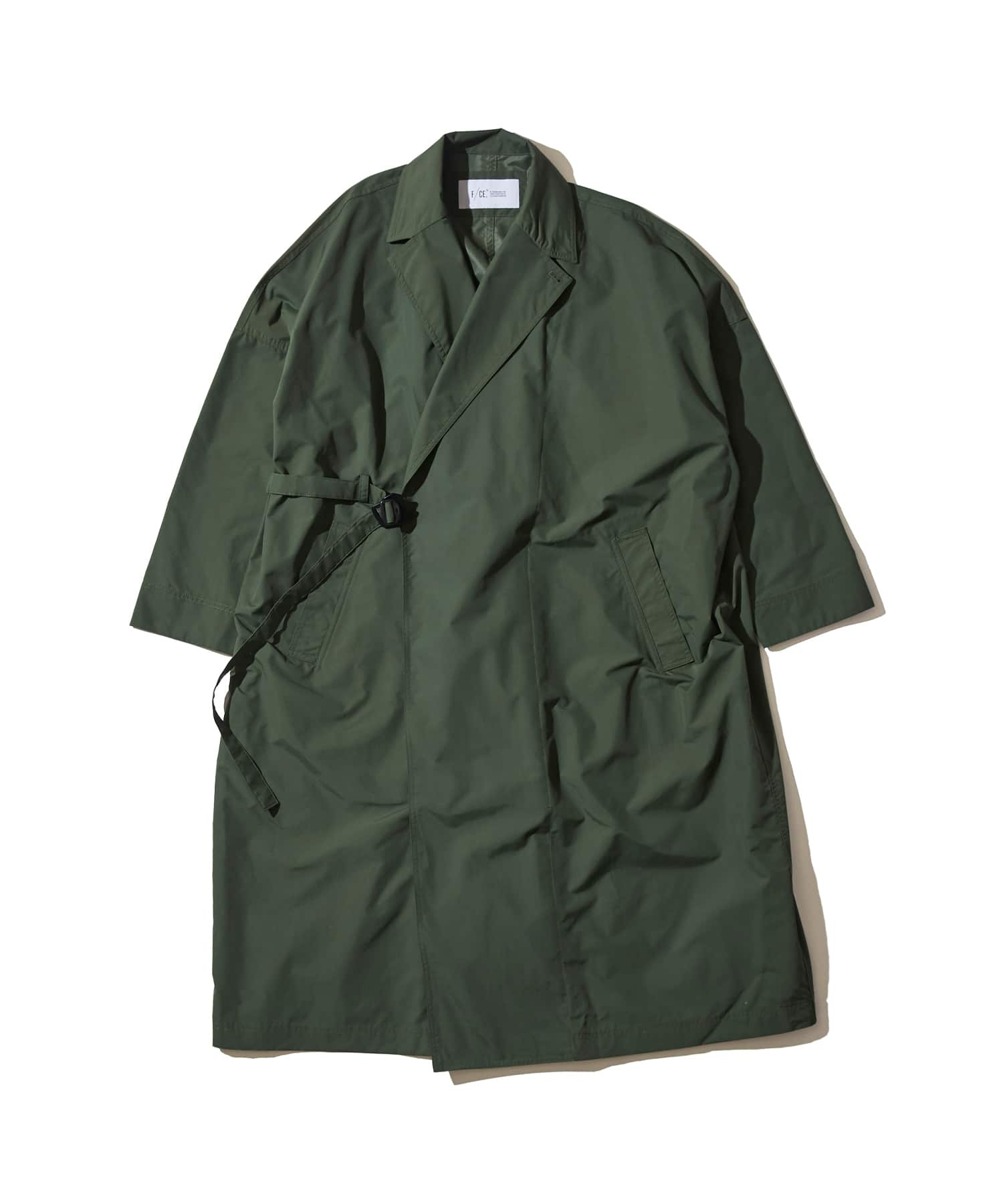 F/CE Recycled Nylon Wrap Coat