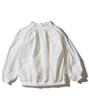 F/CE High Neck Gather Blouse