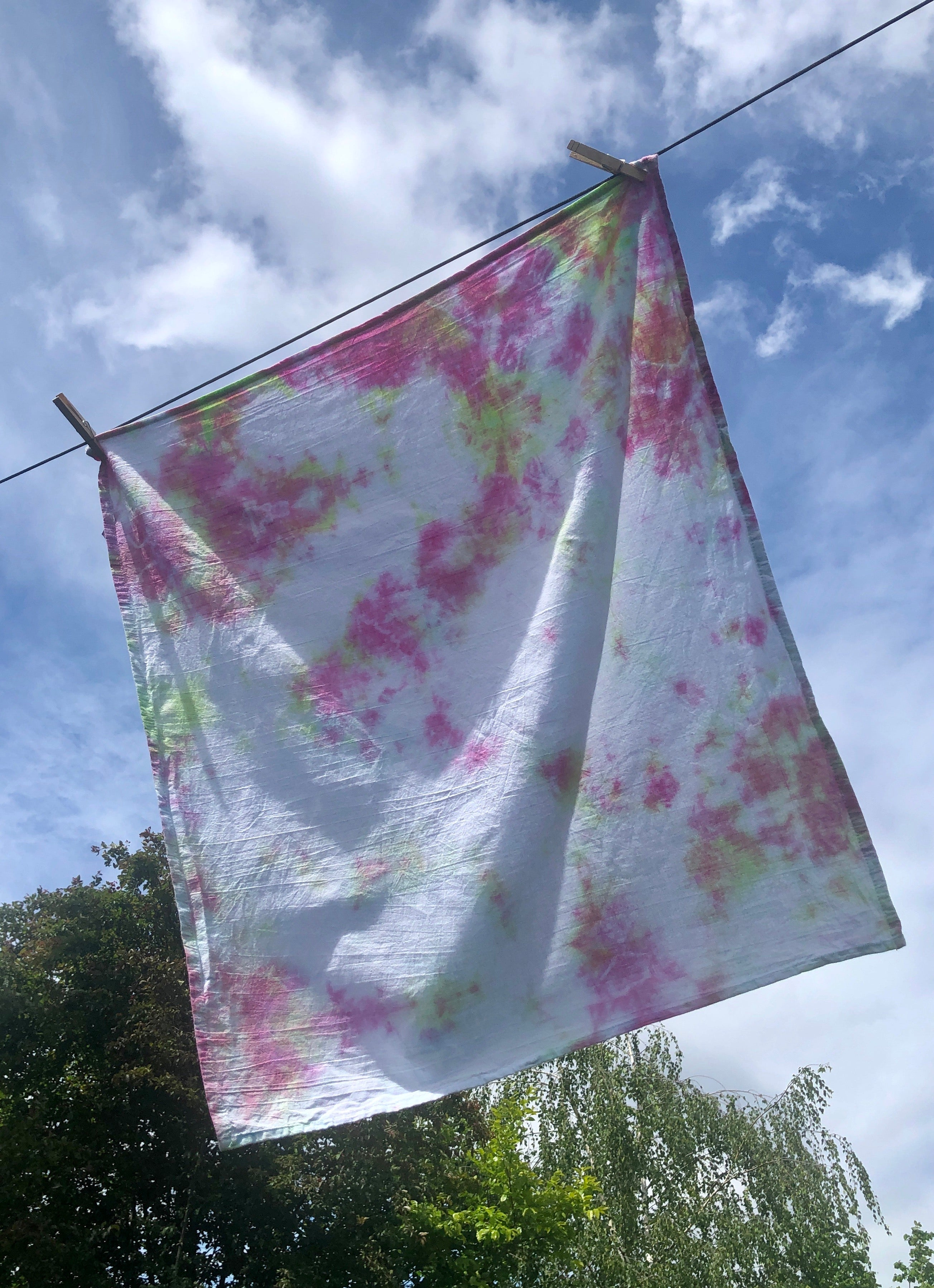 Søren tie dye set of 4 hand towels