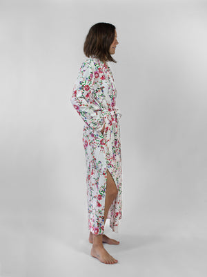 Nahanni Arntzen French floral robe dress