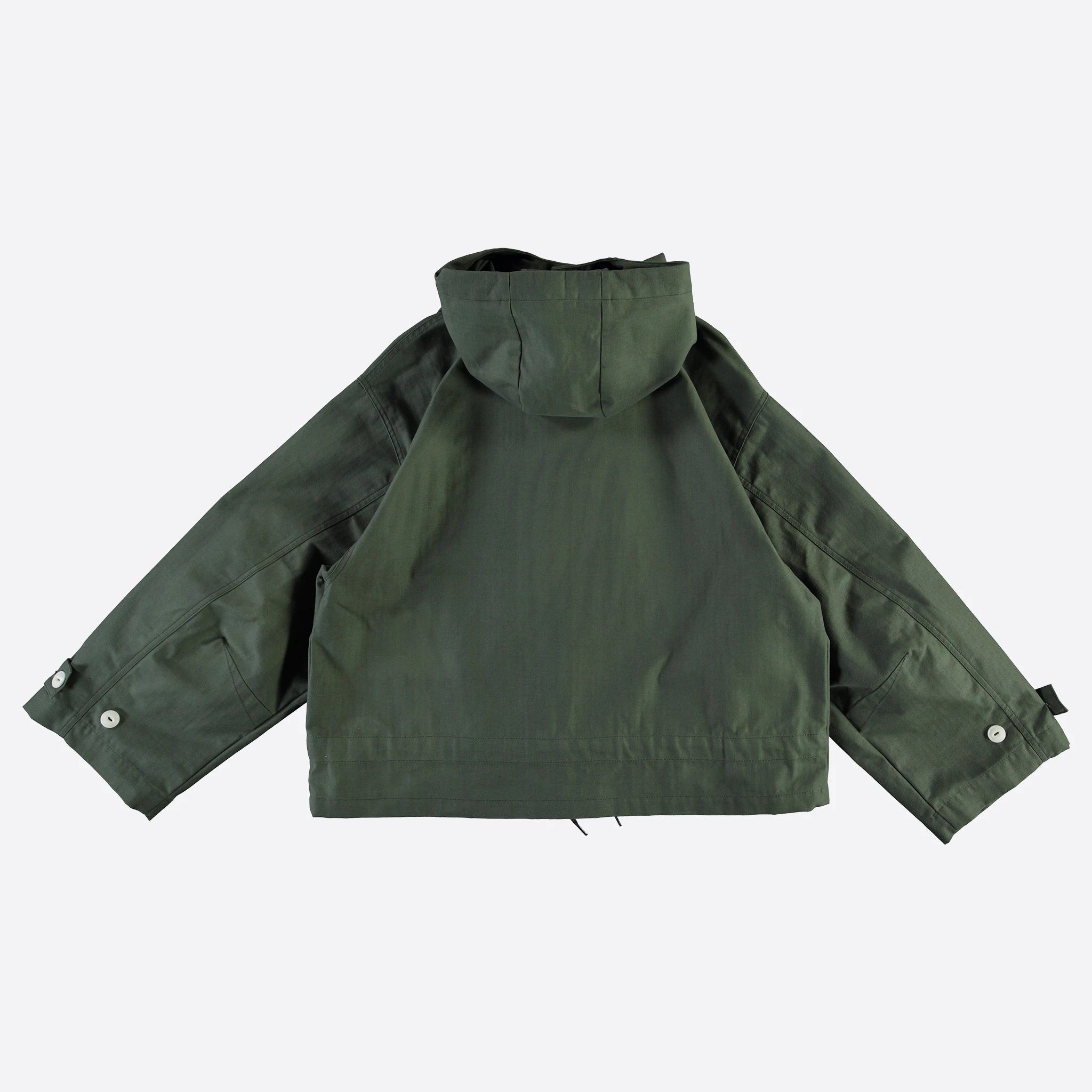 Girls Of Dust Nuclear Rain waxed herringbone jacket