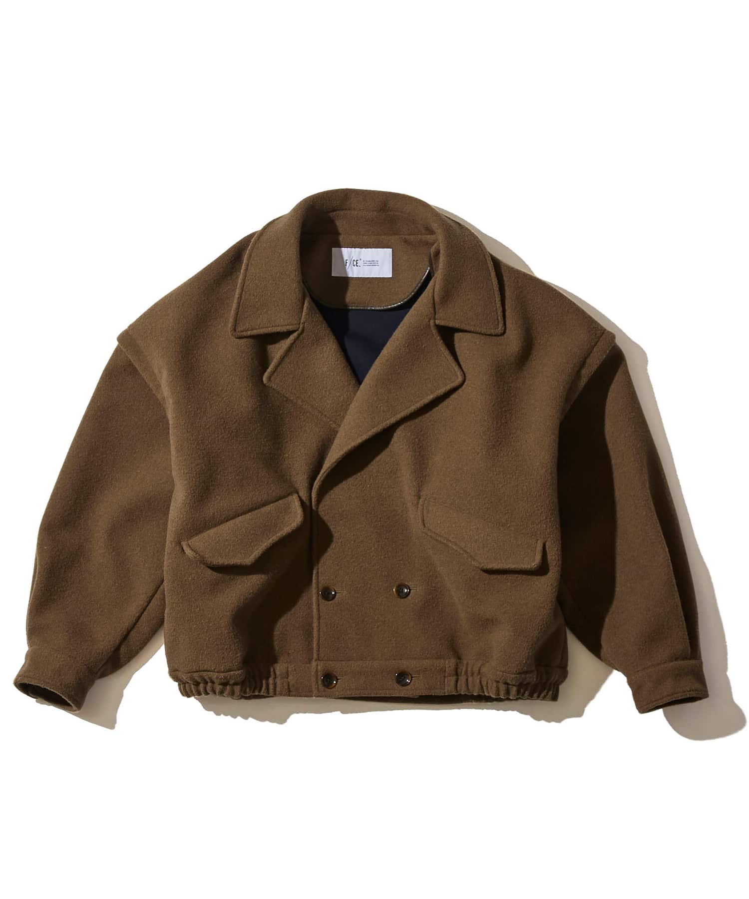F/CE Wool Bonding Short Blouson Jacket