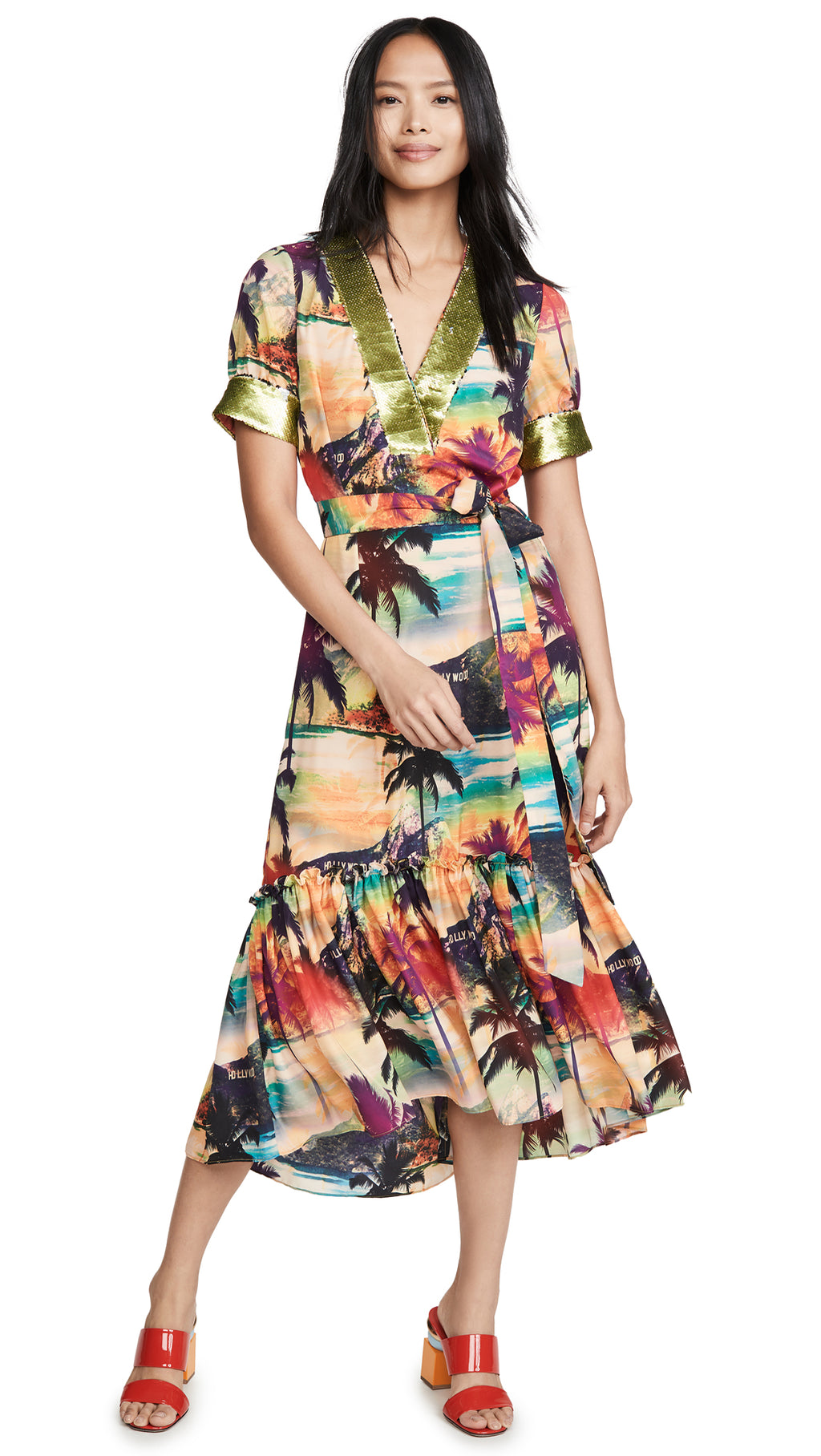 Le Superbe California Hollywood De Janeiro Beachwood Canyon Dress