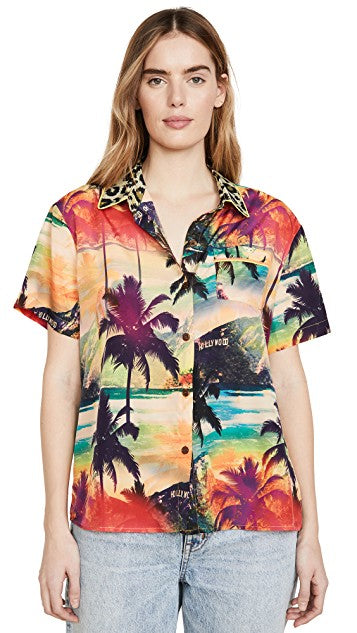 Le Superbe California Hollywood De Janeiro surf camp shirt
