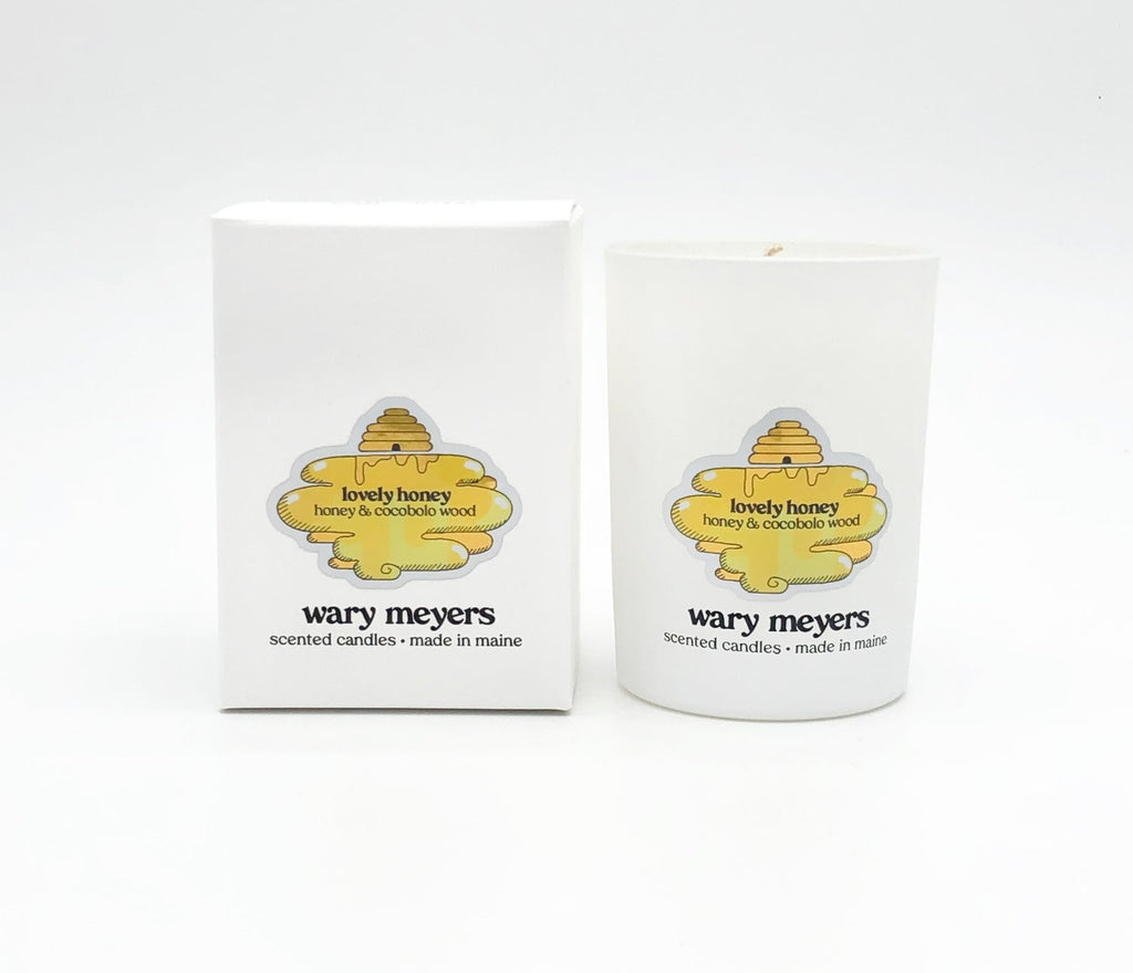 Wary Meyers Lovely Honey Candle