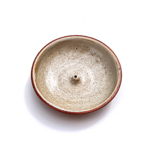 Incausa stoneware woodfired holders - incense burners
