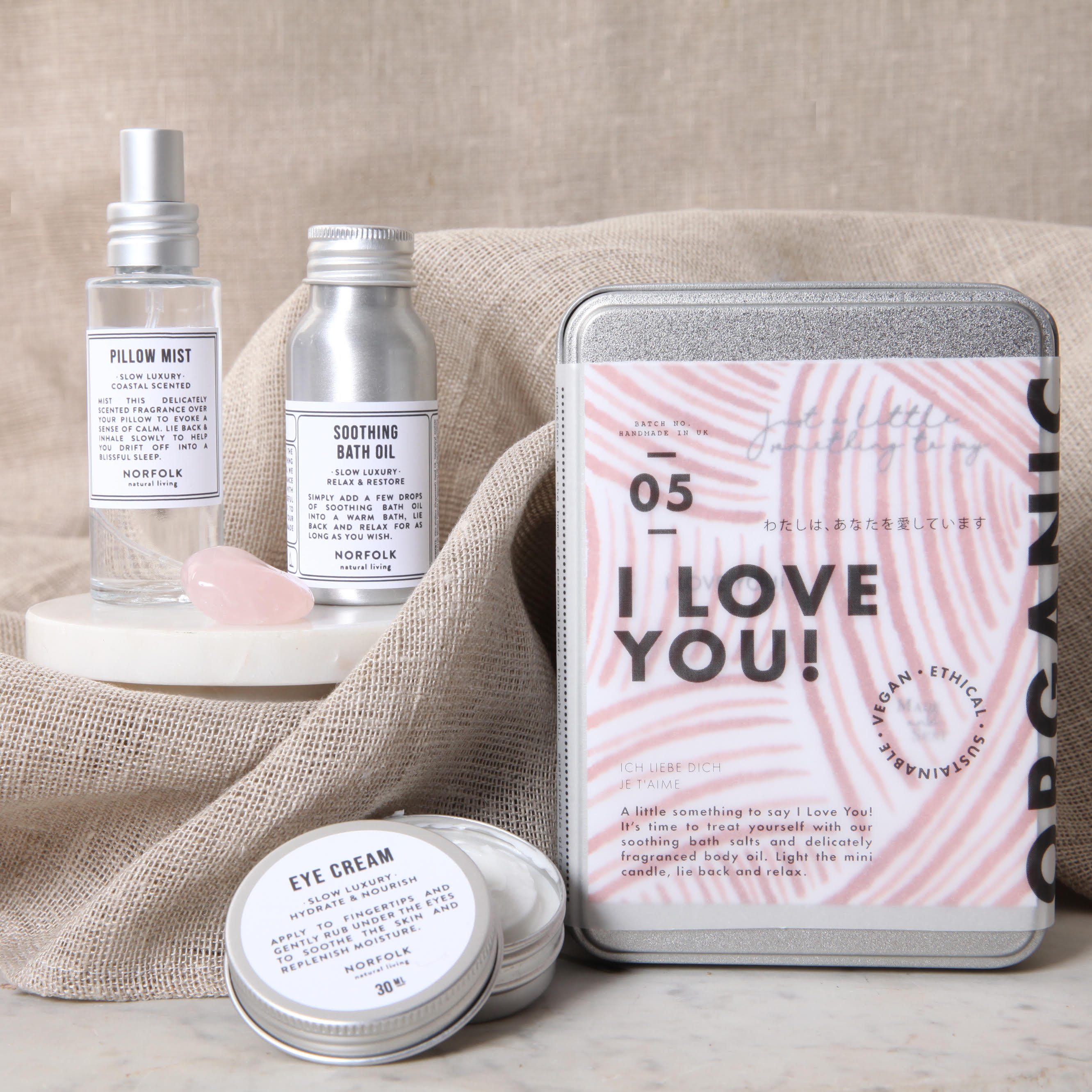 "Made and Sent ""I Love You"" Kit"