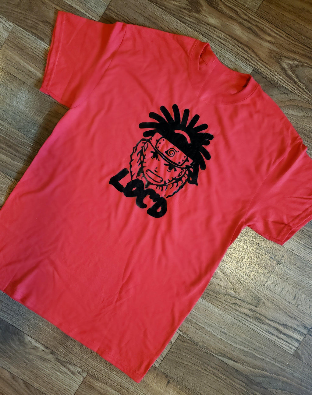Loc'd Naruto Tee - Ethnic Beginnings