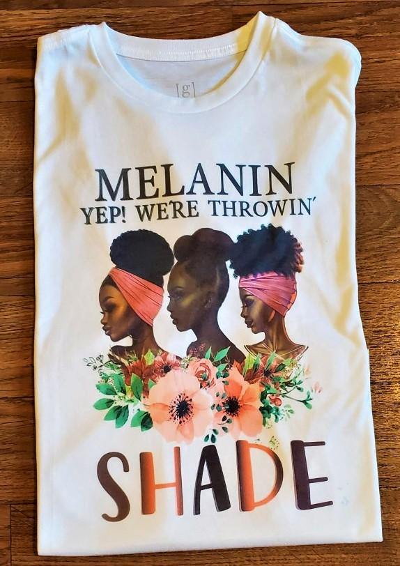 THROWIN' SHADE TEE - Ethnic Beginnings