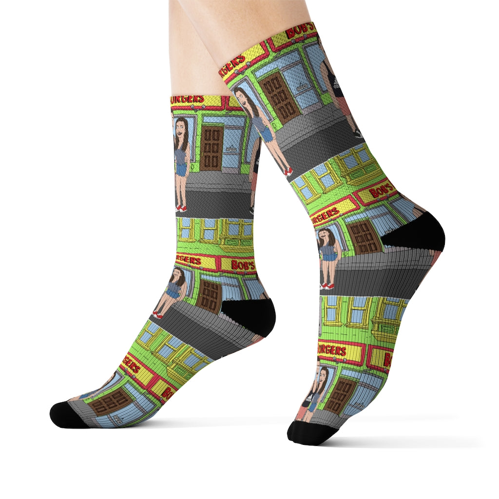 Sublimation Socks - Just Like Bob