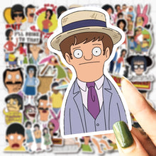 Load image into Gallery viewer, Ultimate Bob's Burgers Stickers Pack (50 pcs) - Just Like Bob