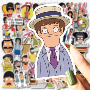 Ultimate Bob's Burgers Stickers Pack (50 pcs) - Just Like Bob