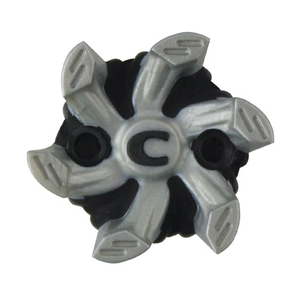 Helix Golf Cleats (PINS) | Silver/Black