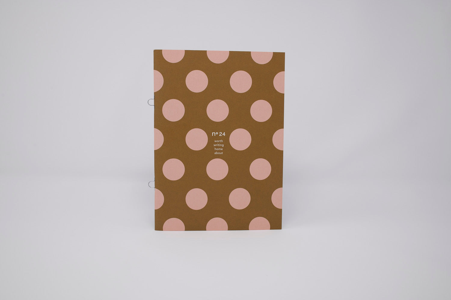 no24 box // Two dotted notebooks