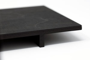 no24 tray // black