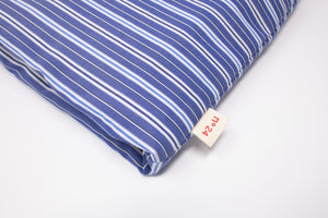 no24 coffe cozy // blue multi striped