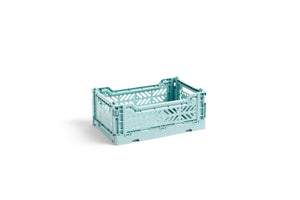 HAY Folding Crate Mini / Artic Blue