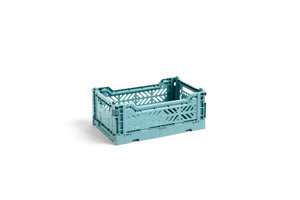 HAY Folding Crate Mini / Teal