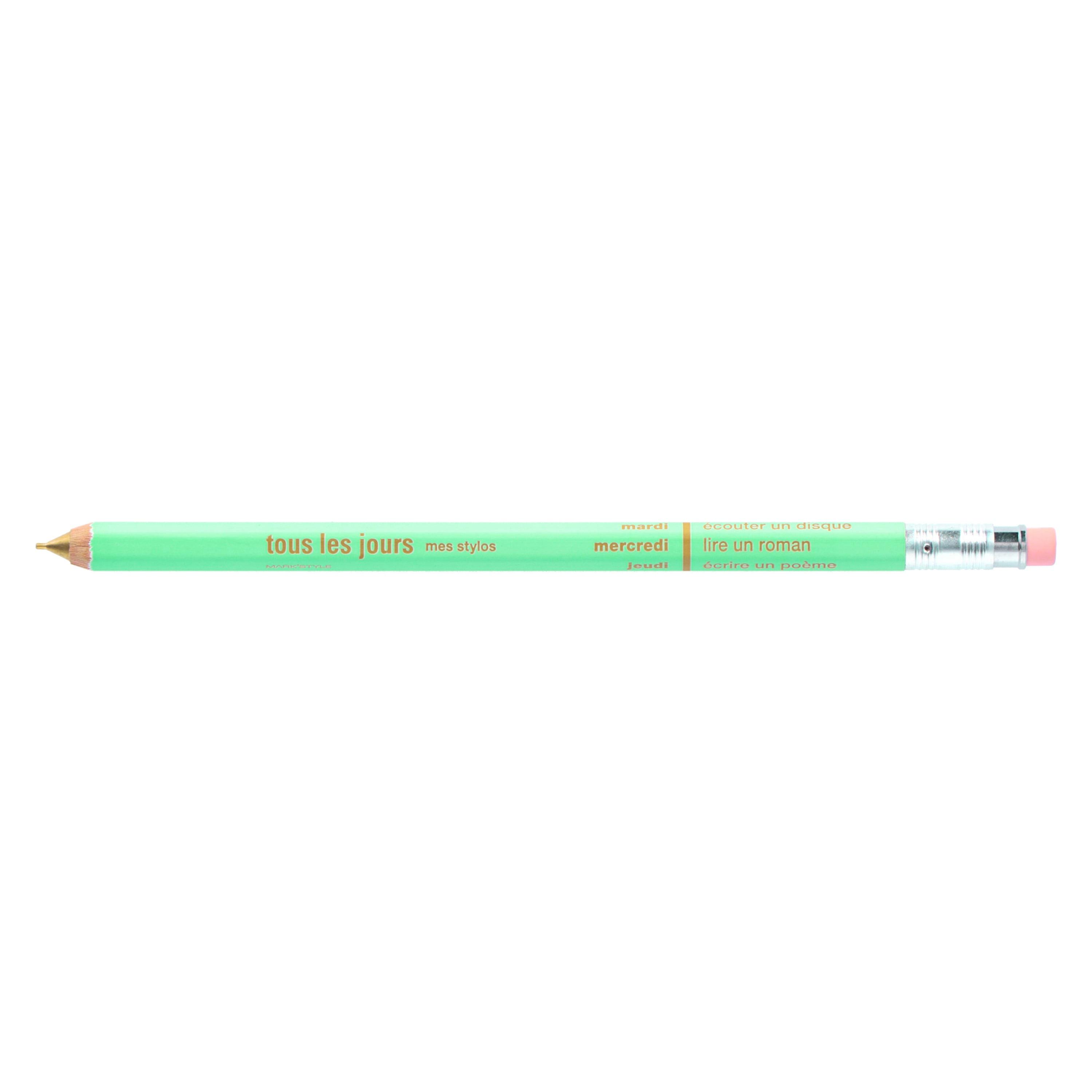 DAY Mechanical Pencil with Eraser / Mint